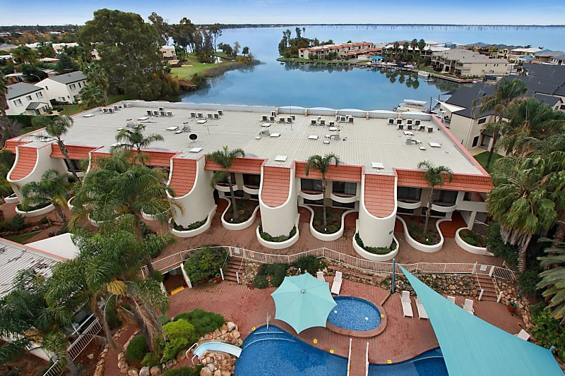 Aerial view of Capri Waters Country Club