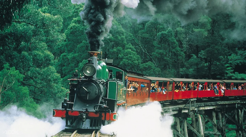 Steam Train Tours, Dandenongs