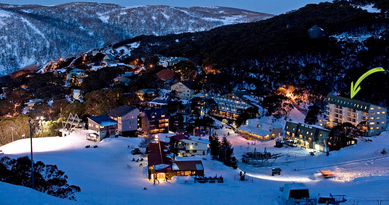 Falls Creek Resort at Night