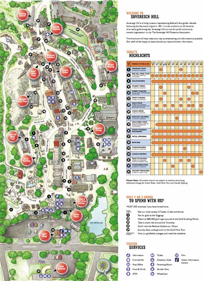 Sovereign Hill Map Sovereign Hill Map | compressportnederland Sovereign Hill Map