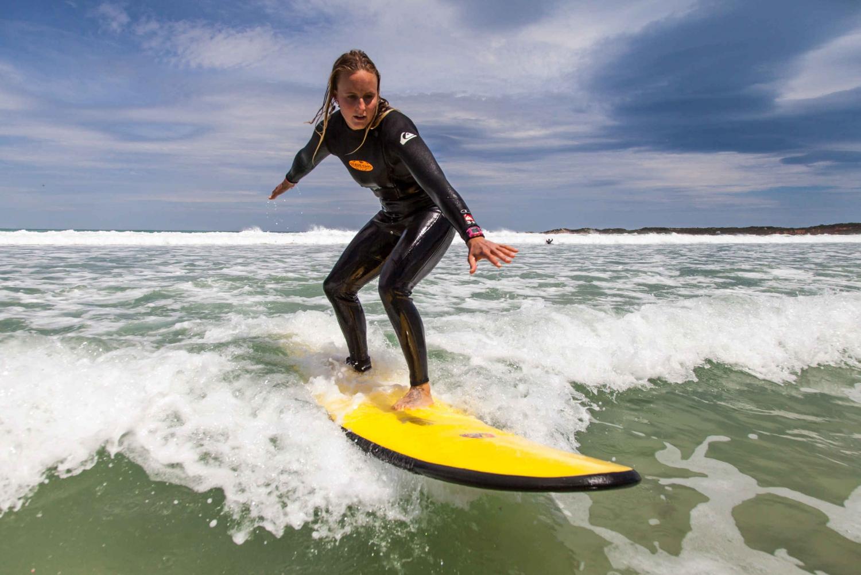 Surfing at Bells Beach, Great Ocean Road