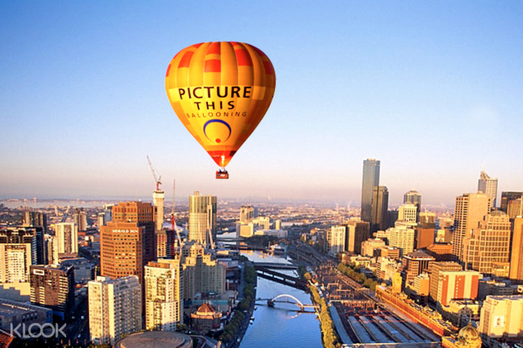 Hot Air Ballooning, Melbourne