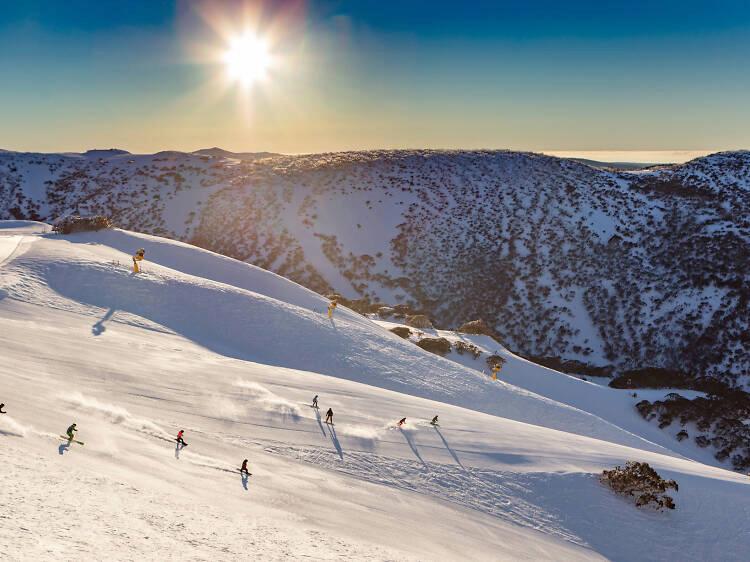 Mount Buller Snow Field