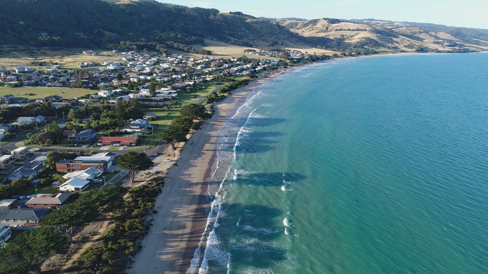Aerial View, Apollo Bay